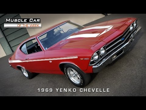 Muscle Car Of The Week Video #49: 1969 Chevelle Yenko 427