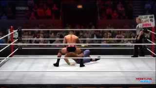 WWE Royal Rumble 2014 Randy Orton Vs John Cena WWE World
