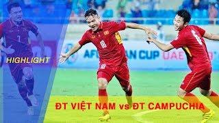 Highlight | ĐTQG Việt Nam giành chiến thắng thuyết phục trước Campuchia