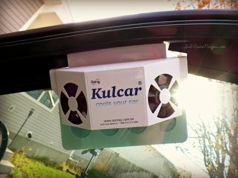 Kulcar Solar Powered Car Ventilator Review and Installation