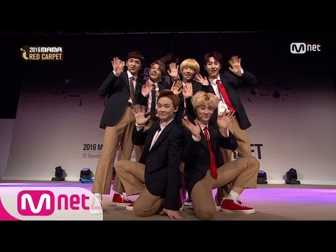 [2016 MAMA] Red Carpet_NCT Dream 〈Chewing Gum〉