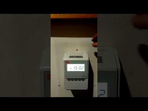 Timbracartellino Max1600 spostamento automatico timbratura installazione Bologna