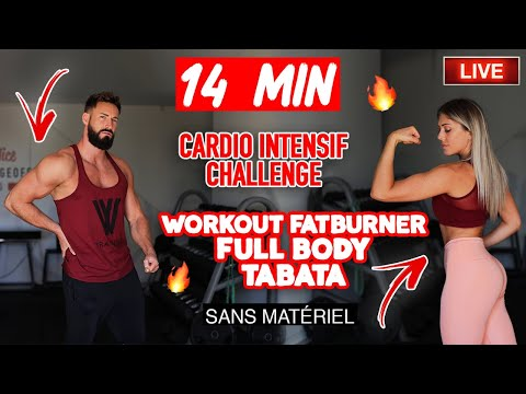 LIVE : TABATA ultra Cardio sans matériel (défi intensif) with Thibault Geoffray