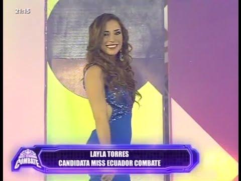 Combate RTS Ecuador - Pasarela Traje de Noche Miss Ecuador Combate