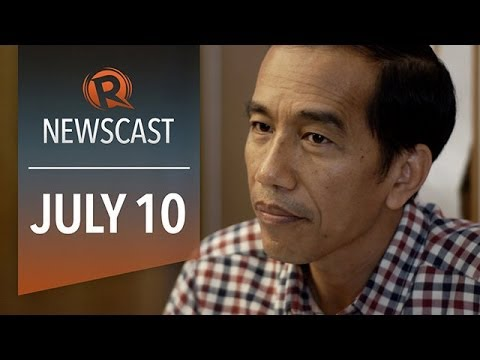 Rappler Newscast: Jokowi, Gigi Reyes, ARG vs GER
