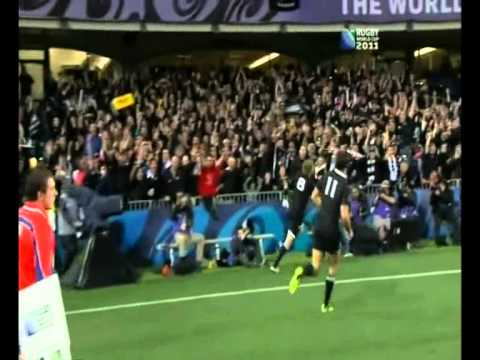 Ma'a Nonu breakthrough and try by Thompson (Great Quality)