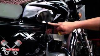 Como sacar abolladuras en un tanque de moto