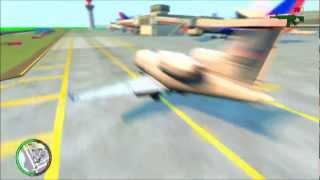 GTA IV Driving A Plane