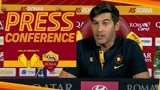 🎙️? La conferenza stampa di Paulo Fonseca in vista di #VeronaRoma
