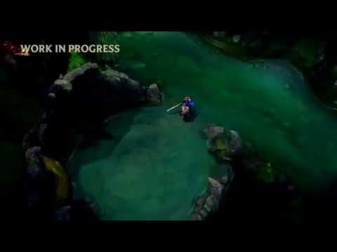 Hình ảnh mới của bản đồ  Summoner's Rift 5vs 5 trong Liên Minh Huyền Thoại