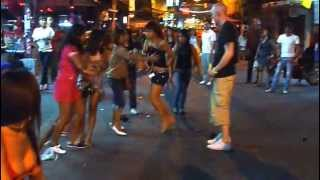 Girls' Fight In Walking Street Pattaya
