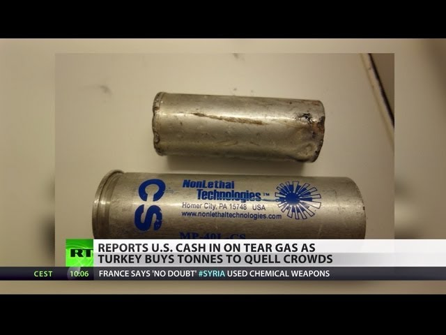 Tears for Fears: US cashes in on teargas amid Turkey brutal turmoil