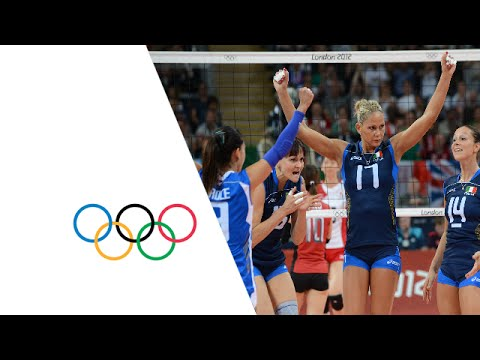 Volleyball Women's Preliminary - Pool A - ITA v JPN - Full Replay -- London 2012 Olympic Games