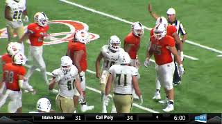 Idaho State vs. Cal Poly Football Highlights