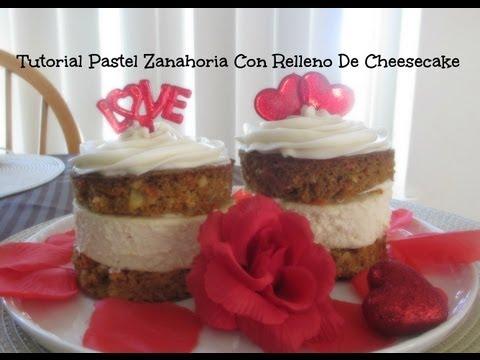 Pastel De Zanahoria Relleno De Cheesecake Delisioso!!!!