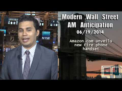 AM Anticipation: Futures rise on jobs data, Amazon unveils Fire Phone, & Argentina default likely