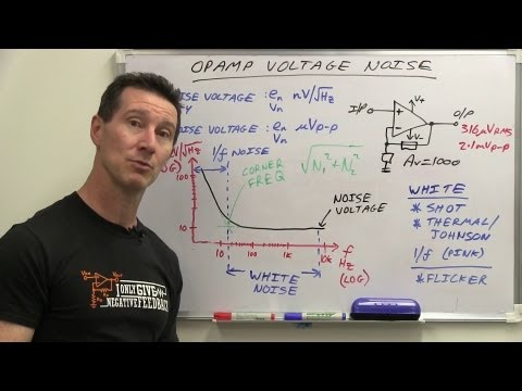 EEVblog #528 - Opamp Input Noise Voltage Tutorial