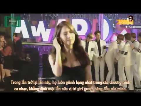 [YoonaVN][Vietsub] 151107 Yoona speech - SNSD win Top 10 MelOn Music 2015