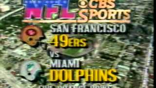CBS Football Intro September 1986