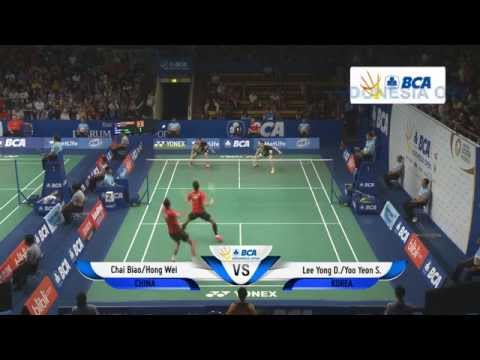 Chai Biao/Hong Wei (CHN) VS Lee Yong Dae/Yoo Yeon Seong (KOR)  - BCA Indonesia Open 2014