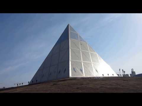 Kazakh, Astana 04  Palace of Peace and Reconciliation Бейбітшілік пен келісім сарайы, pyramid Пирами