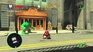 LEGO Marvel Superheroes How To Enter Cheat Codes In LEGO