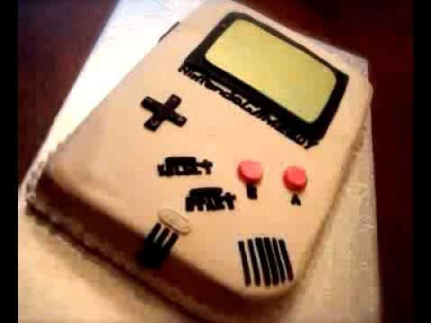 How To Make A Gameboy Cake