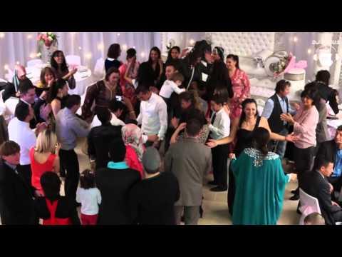 MAGNIFIQUE CLIP - MARiAGE MIX ORiENTAL TURC & ALGER A BESANÇON CORTEGE DE FOU !!