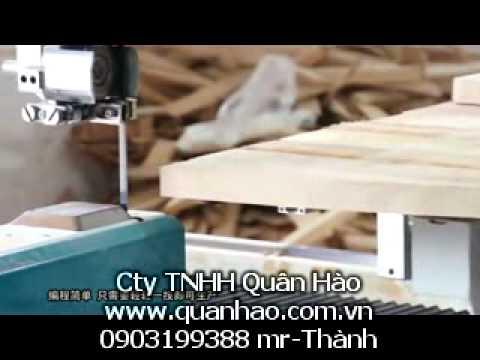 Máy Cưa lọng CNC CNC band Saw may cua long CNC MJS1212A.flv