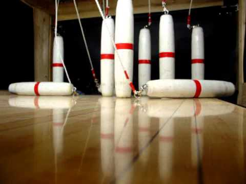 pin cam for my home basement candlepin bowling alley youtube