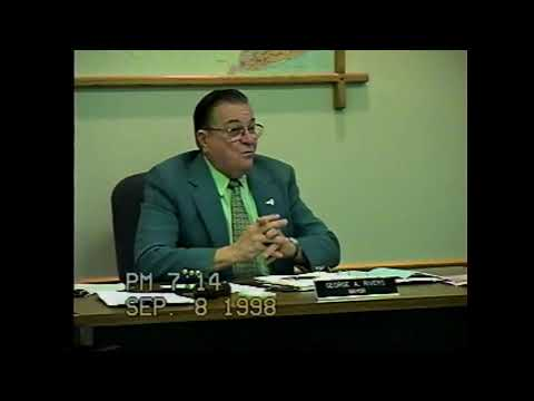 Rouses Point Village Board Meeting 9-8-98