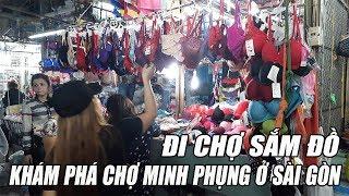 Mua Sắm trong các ngôi chợ nối tiếng ở Sài Gòn - Tìm hiểu đời sống của tiểu thương CHỢ CÂY GÕ  Q11