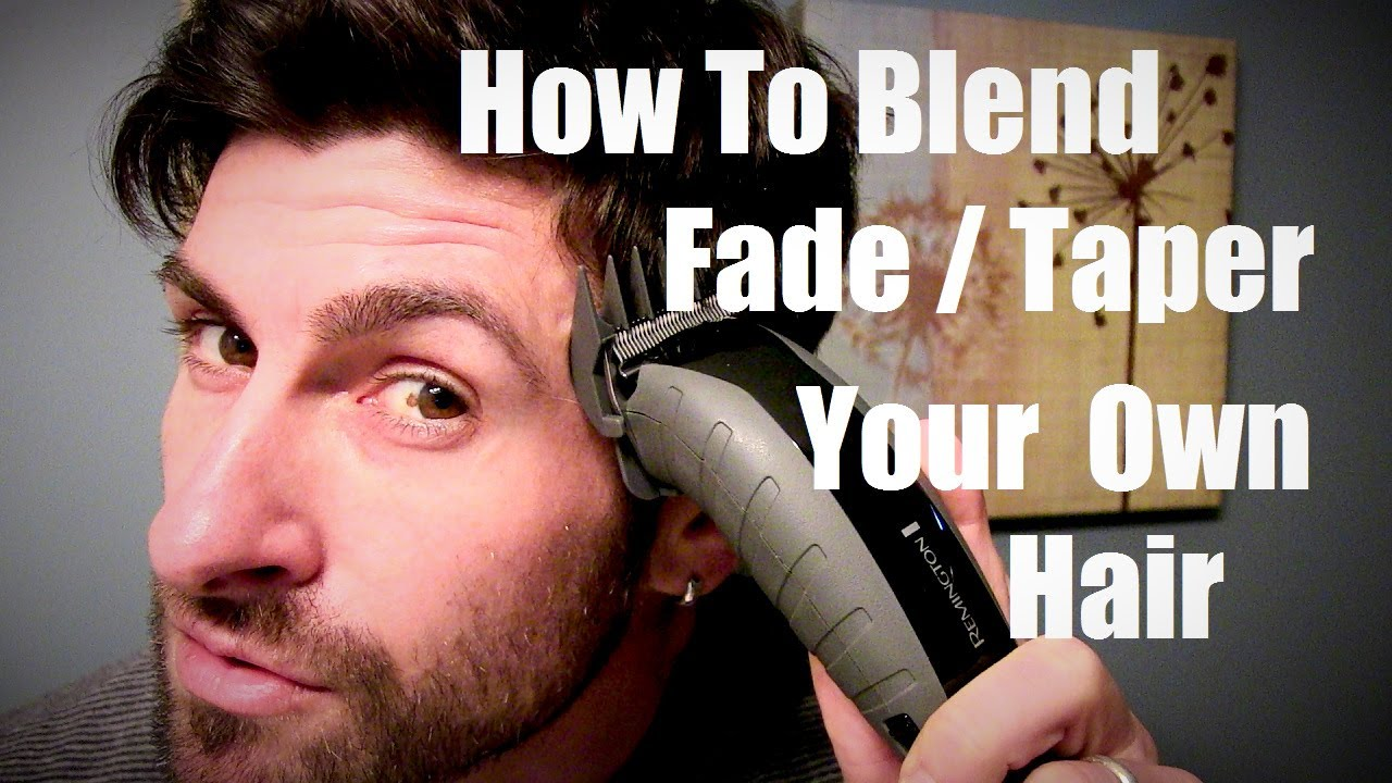 Men 39 S Style And Grooming Advice How To Taper Fade And Blend Your