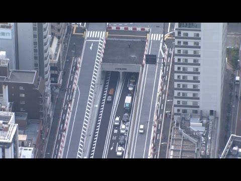 東京・新橋 虎ノ門間「マッカーサー道路」が開通