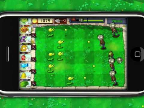 Plants vs. Zombies вышла на iPhone и iPod Touch