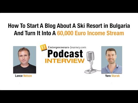 How Lance Nelson Quit His Job And Now Makes A Living From A Blog About A Ski Resort In Bulgaria Video