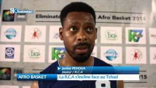 AFRO BASKET : La R.C.A s'incline face au Tchad