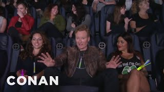 "Conan Crashes A ""Magic Mike XXL"" Girls' Night Out  - CONAN on TBS"