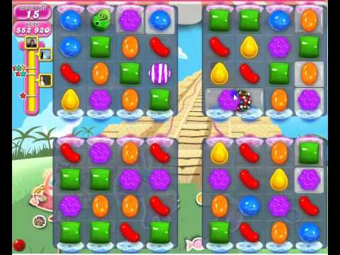 Candy Crush Saga Level 323 How to pass without boosters. - YouTube
