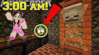 Minecraft: DO NOT ENTER THE BASEMENT AT 3:00 AM!! - Custom Map