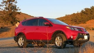 2014 Toyota RAV4 Compact Crossover Review And Road Test