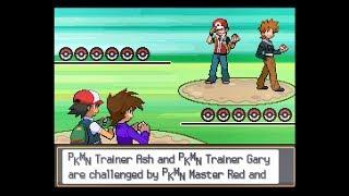 Pokemon Multiverse - Ash & Gary Vs Red & Blue (Kanto League teams)