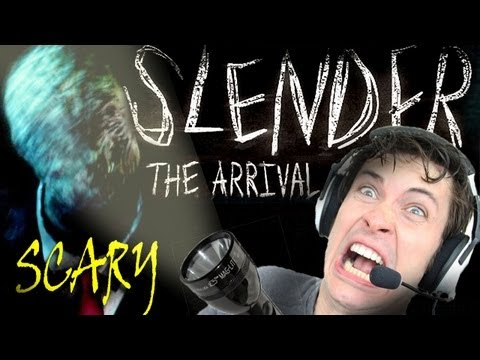 SCARY NEW SLENDER MAN GAME!