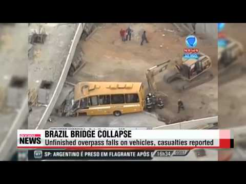 Brazil overpass collapse claims casualty