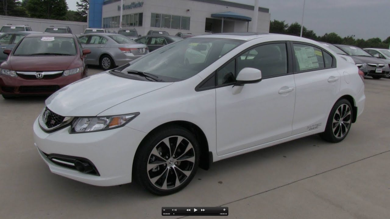 2013 honda civic si sedan start up exhaust and in depth review youtube. Black Bedroom Furniture Sets. Home Design Ideas