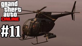 GTA Online Buzzard Attack Helicopter Gameplay Grand Theft