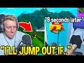 TFUE JUMPED OUT OF HIS WINDOW AFTER *FUNNIEST* NOOB FAIL! - Fortnite Moments