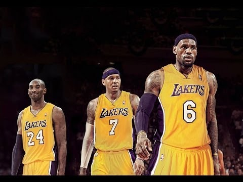 Could Kobe, Lebron, and Melo be Lakers?