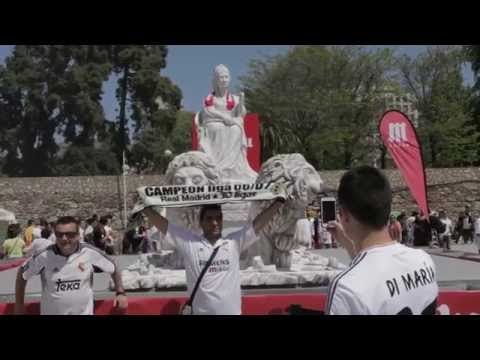 Fan Zone del Real Madrid en Valencia | Final de la Copa del Rey 2014