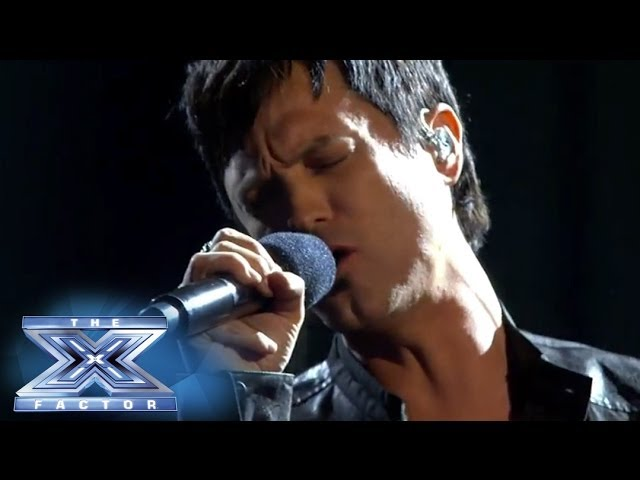 "Jeff Gutt is Ready For ""Tonight"" - THE X FACTOR USA 2013"